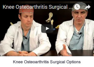 Knee Osteoarthritis Surgical Options
