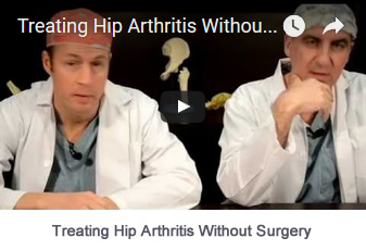 Treating Hip Arthrits Without Surgery