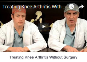 Treating Knee Arthritis Without Surgery