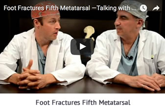 Foot Fractures Fifth Metatarsal Talking with Docs
